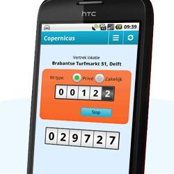 Kilometer registratie app
