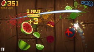 Review van Fruit Ninja