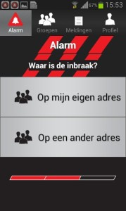 lokaal-alarm-systeem app