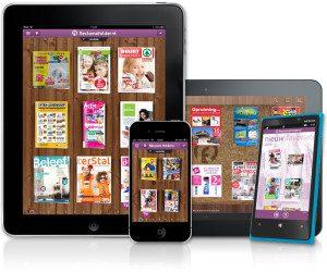 reclamefolder ipad iphone android windowsphone