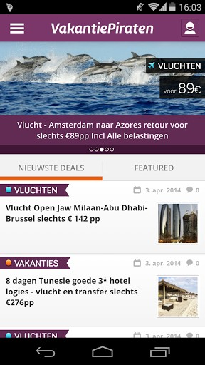 vakantiepiraten apps